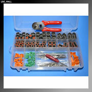 432 Pcs Deutsch Dt Connector, 14-16awg Solid Contacts Kit And Tools Made In Usa
