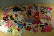 Lot Of 41 Barbie Ken Dolls 100s And 100s Of Clothing Shoes Brushes Ect Vintage