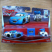 Disney Pixar Cars Ruby Oaks And Easy Idle Pitty 2pk Diecast Piston Cup 7and8/18 2015