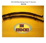 Chassis Engineering Rs-4148 - Rear Slider 5 Leaf High Arch Springs