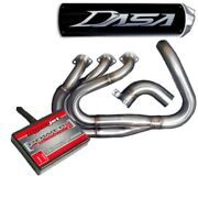 Dasa Racing Yamaha Yxz1000r Full Exhaust System Black And Pcv Fuel Controller