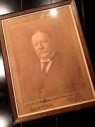 William Howard Taft Inscribed 1913 Autograph Photo Signed  As President