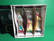 Christopher Radko Three Wise Men The Nativity Ornaments Limited Edition