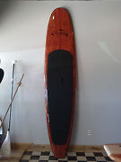 11and0394 Redwood Burl Design Light Weight Three Brothers Boards Sup Paddle Board