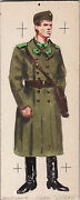 Wwii Original Military Sketch - Army Uniforms - Hungarian Soldier Sapper