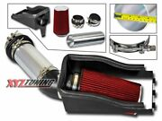4 Red Heat Shield Cold Air Intake + Filter For 99-03 F250/f350 Super Duty 7.3l