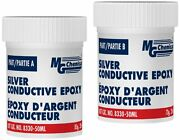 Mg Chemicals 8330-50ml Silvery Grey Silver Conductive Epoxy Adhesive