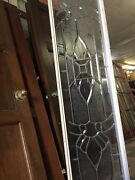 Etched Glass Window Transom Sidelights