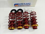 4525.01 Ground Control Coilover Springs 1988-1991 Civic And Crx Limited Edition