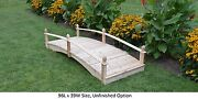 Amish-made Weight-bearing Cedar Acorn Bridge - Bridges In 8 Sizes And 9 Colors