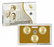 2016 S Presidential Mint Proof Dollar Set Nixon Ford Reagan With Box And Coa