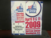 Ncaa- 2009 Menand039s Frozen Four- Washingtond.c- Semi Final Full Ticket- B.u. Wins