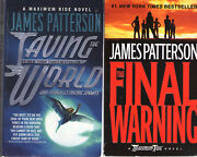 Complete Set Series - Lot Of 9 Maximum Ride Books By James Patterson Ya Angel