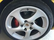 Porsche 911 Turbo Factory 295/30/18 Polished And Balanced Rear Rim And Wheel