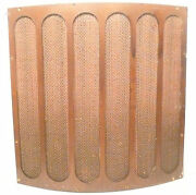 Capehart 78 Rpm 410-k Record And Radio Part Speaker Grill Cloth And Frame