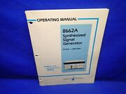 Hp 8662a Sythensized Signal Generator Operating Manual