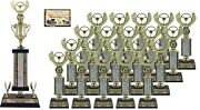 First Time Car Show Award Trophy Package 3c Top 20 Car Show Awards