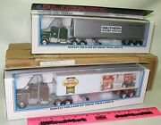 Lionel 2-pack Tractor And Trailer 6-52055 Lcca Sovex 6-52056 Lcca Southern