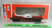 Lionel 6-16968 6461 Lionel Aviation Flatcar With Ertl Helicopter