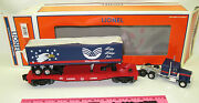 Lionel 6-39442 Wellspring Flatcar With Tractor Trailer