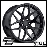 20 Mrr Fs01 Black Flow Forged Concave Wheels Rims Fits Toyota Camry