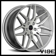 20 Giovanna Bogota Silver Concave Wheels Rims Fits Ford Mustang Gt Gt500