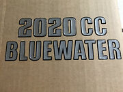 Key West Boats Domed 2020 Cc Bluewater Decal Single