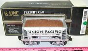 New K-line K671-2111 Union Pacific Classic O Scale Ore Car With Load 27250