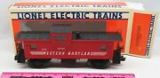 Lionel 6-19704 Western Maryland Extended Vision Caboose With Smoke