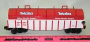 Lionel New 636697 Twizzlers Gondola With Removable Coil Covers Hershey's