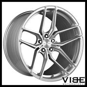 19 20 Stance Sf03 Silver Forged Concave Wheels Rims Fits Chevrolet C6 Z06