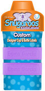 Pack Of 2 Personalized Daycare Labels For Sippy Cups And Baby Bottles
