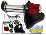 Heat Shield Cold Air Intake + Red Filter For 08-10 Challenger / 05-10 300 5.7 V8