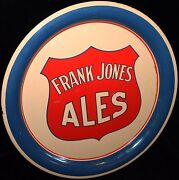 Mid-30s Frank Jones Ales Serving Tray From Portsmouth Nh Pre-prohibition Style