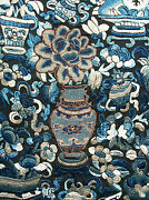 Fine Quality Embroidery On Silk - Qing Dynasty - China - Mid 19th Century