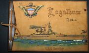 Flying Tigers Uss Saratoga Photo Album, Medal, Usn Discharge Of Avg Crew Chief