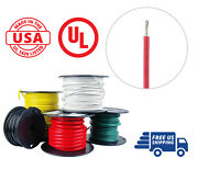 12 Awg Marine Wire Spool Tinned Copper Primary Boat Cable 25 Ft. Red Made In Usa