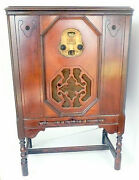 Vintage Stunning 1925 Kennedy Model 20 Am Radio ... Working / Lots Of Stations