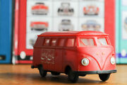 Antique Tin Toy Lemez Volkswagen Bully Van Hungary Friction Works