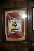 Brett Favre Nike Poster Framed And Matted 29 Inches X 42 Inches