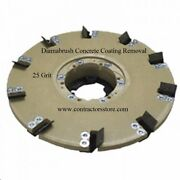 Floor Machine 20 Concrete Coating Removal Tool 25 Grit, Mastic, Adhesives