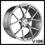 20 Vs Forged Vs02 Brushed Concave Wheels Rims Fits Nissan 350z