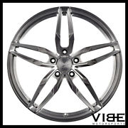 20 Vs Forged Vs03 Brushed Concave Wheels Rims Fits Nissan Gtr