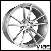 20 Vs Forged Vs04 Brushed Concave Wheels Rims Fits Nissan Gtr