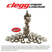 Chevy 350-383 Bal. Scat Stroker Kit 1pc Rs Forgeddomepst. I-beam 5.7 Rods