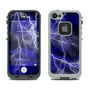 Skin Kit For Lifeproof Fre Iphone 5s - Apocalypse Blue - Sticker Decal