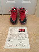 Joey Bosa Ohio State Signed Official Nike Worn Alpha Pro Size 14 Cleats