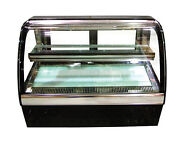 Omcan Sclg4-80fh, 19.25x36.5x27.75-inch Refrigerated Showcase, 2.8 Cu. Ft