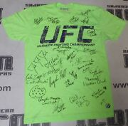 Rowdy Bec Rawlings 23x Signed Personally Worn Used Ufc Tuf 20 Cast Shirt Psa/dna