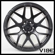 21 Mrr Fs01 Matte Black Forged Concave Wheels Rims Fits Cadillac Cts V Coupe